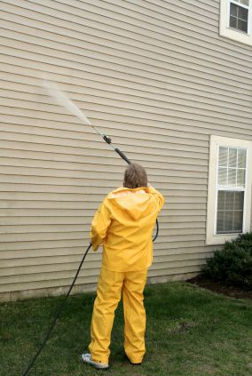 Pressure washing in Groton, MA by Torres Painting Inc.