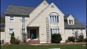 Before& After Exterior Painting in Ashland, MA (1)
