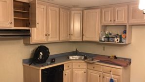 Before & After Cabinet Painting in Ashland, MA (1)