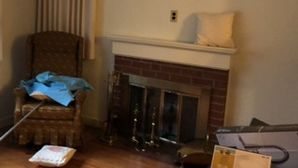 Fireplace Refinish in Wellesley Hills, MA. (1)