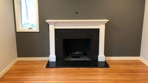 Fireplace Refinish in Wellesley Hills, MA. (2)