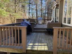 Before & After Deck Refinishing in Bolton, MA (1)