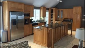 Before & After Kitchen Cabinet Refinishing in Southboro, MA (1)