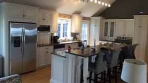 Before & After Kitchen Cabinet Refinishing in Southboro, MA (2)