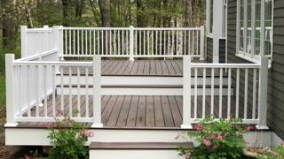 Before & After Deck Refinishing in Bolton, MA (2)