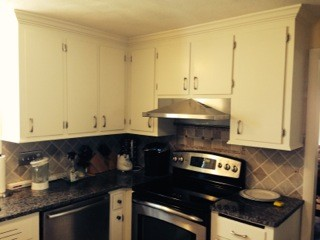 After Cabinet Refinishing in Framingham, MA