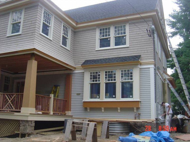 New construction home in Newton, MA